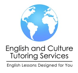 Terms of use, English and Culture logo