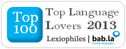 Top 100 language blog 2013